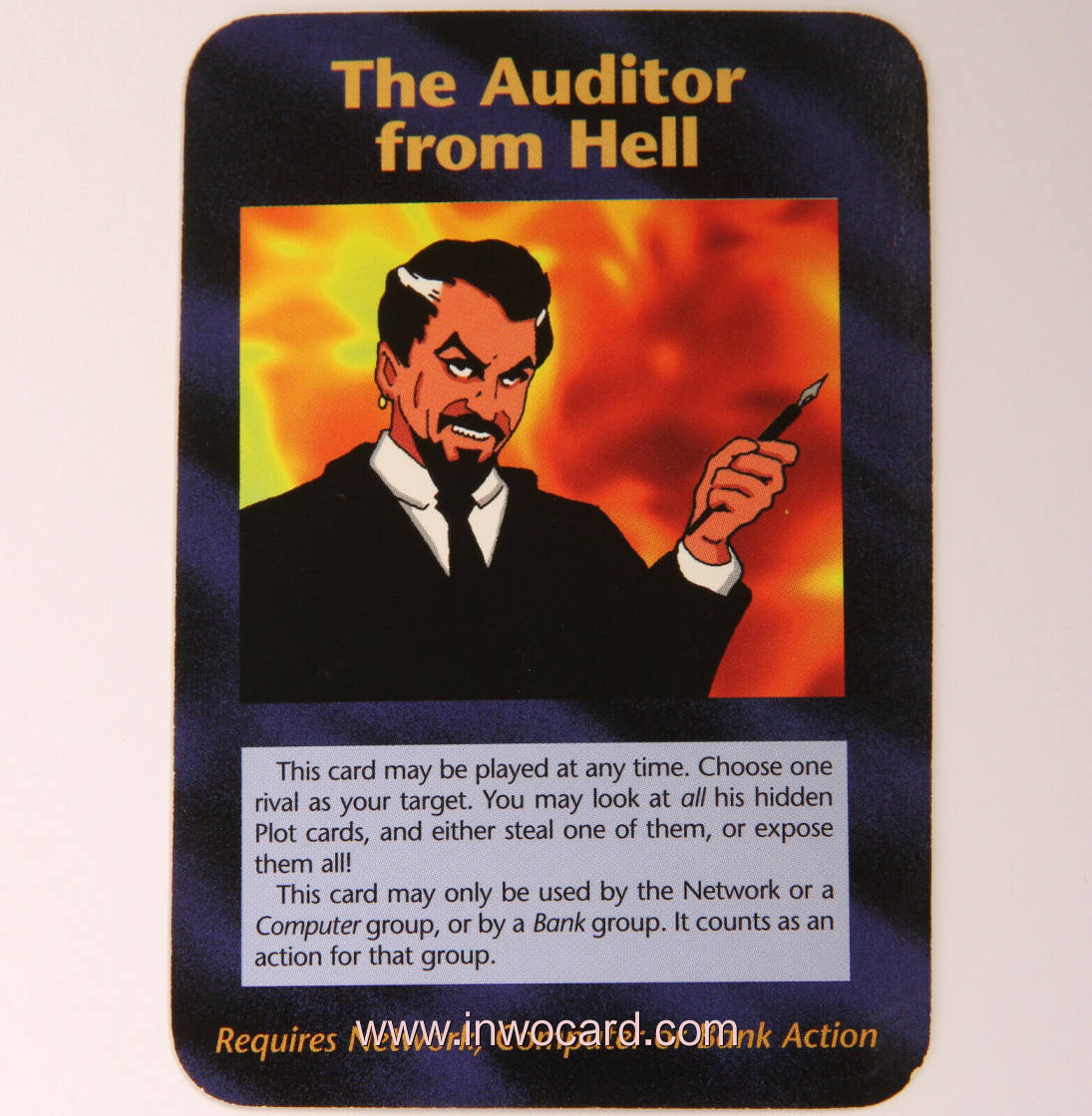 Illuminati Card:the auditor from hell limited