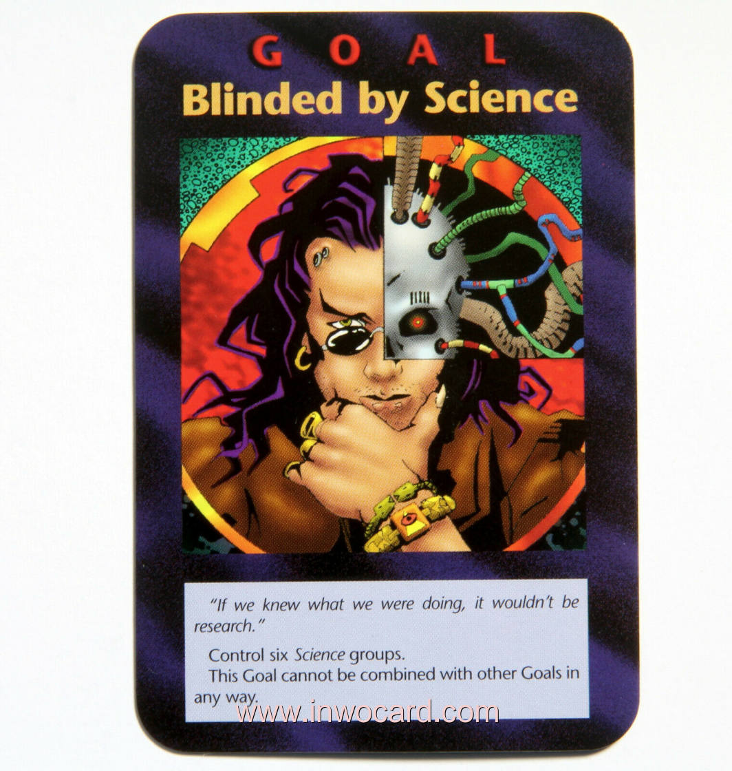Illuminati Card:goal blinded by science assassins