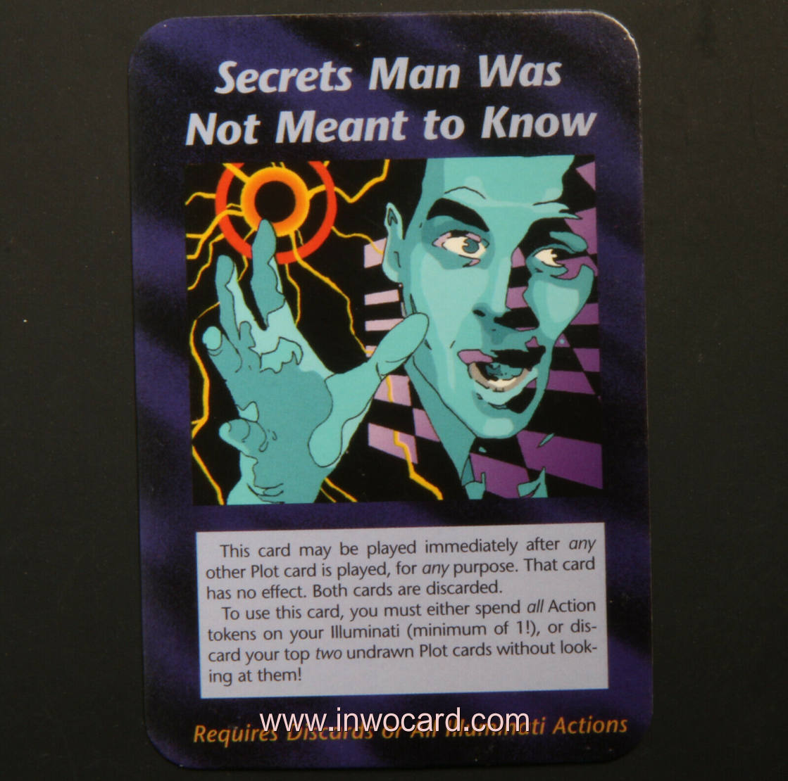 Illuminati Card:secrets man was not meant to k unlimited