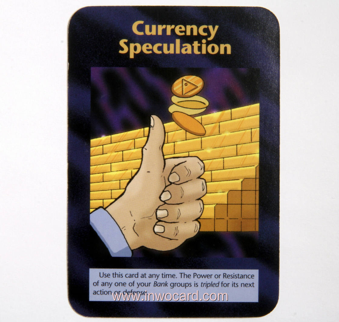 Illuminati Card:currency speculation limited